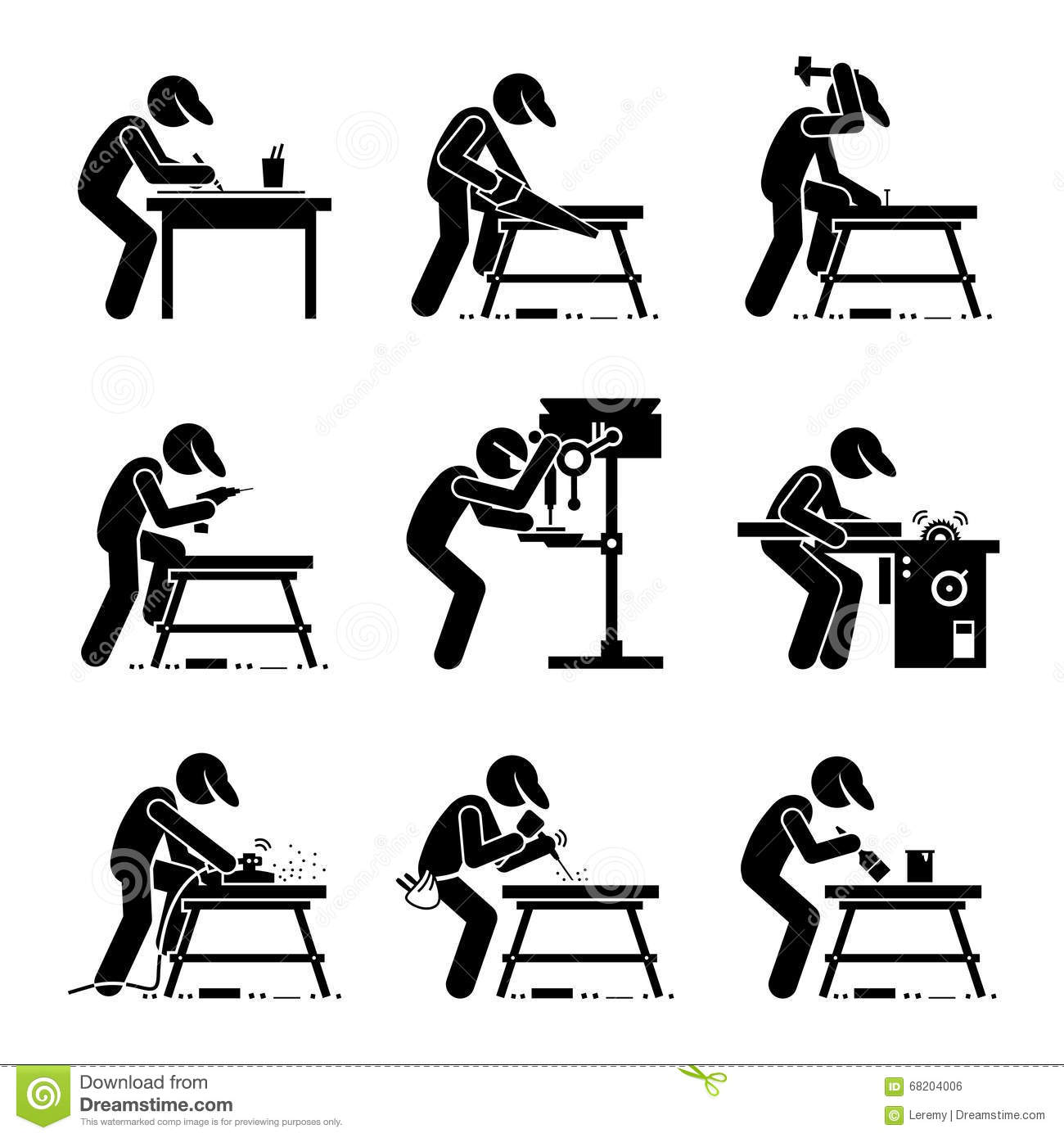Woodworking Stock Illustrations – 1,496 Woodworking Stock ...