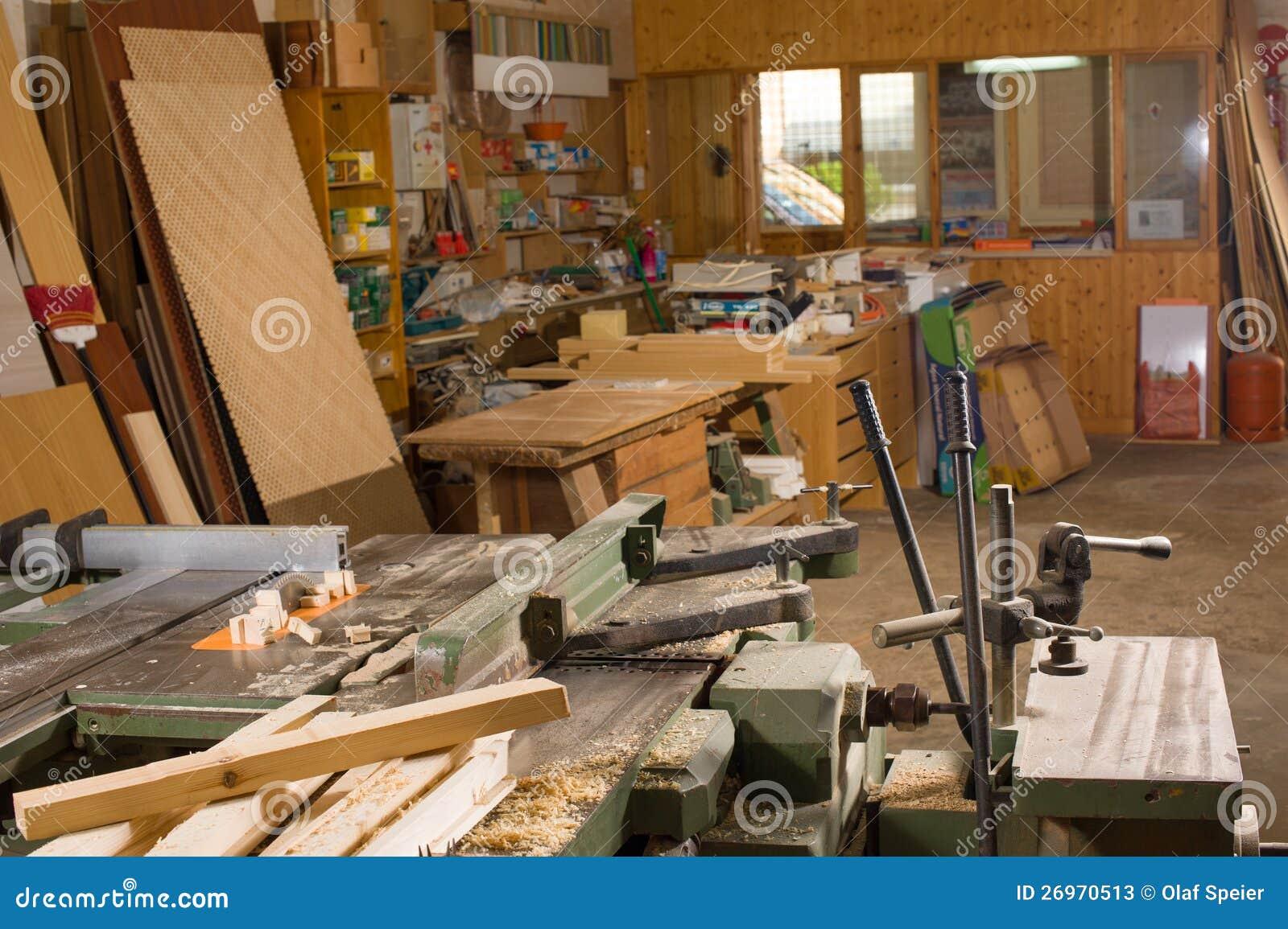 Carpenter Workshop Stock Photos - Image: 26970513