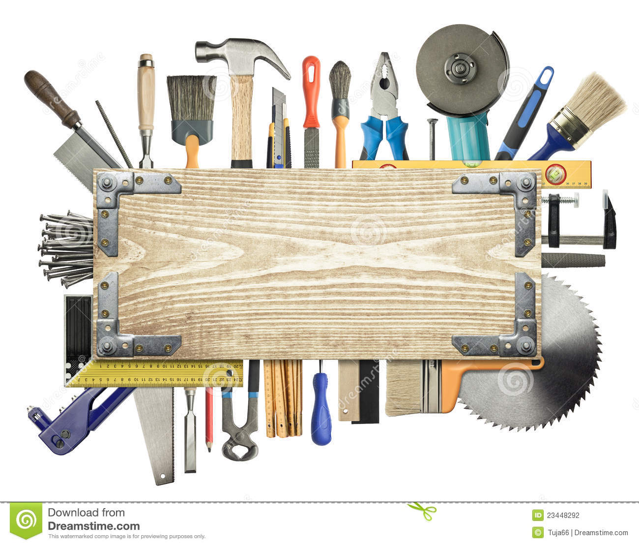 Carpentry Background Stock Photography Image 23448292