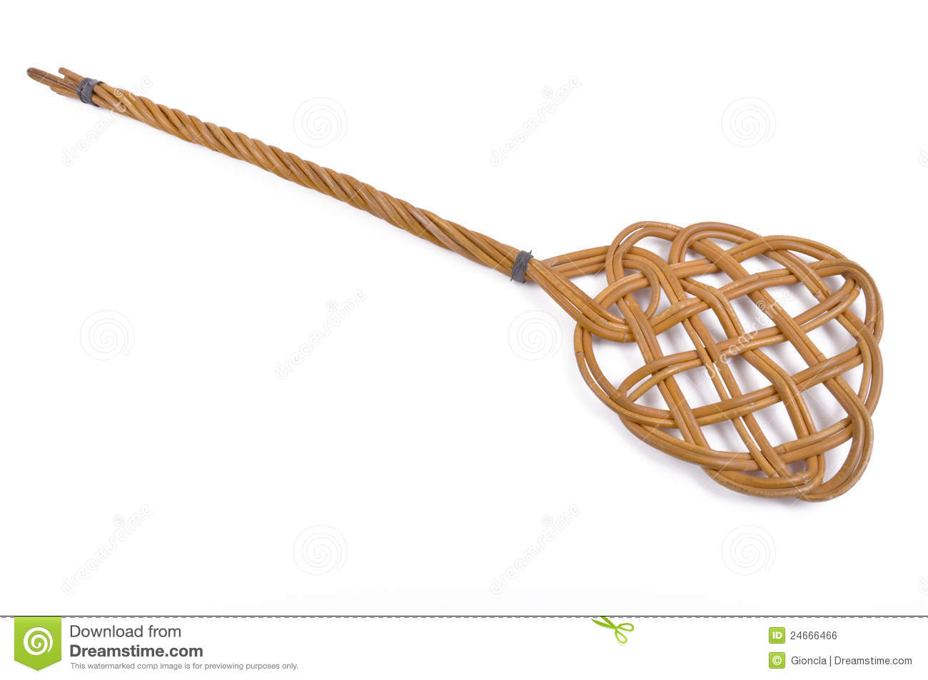 Old fashioned carpet beater 38