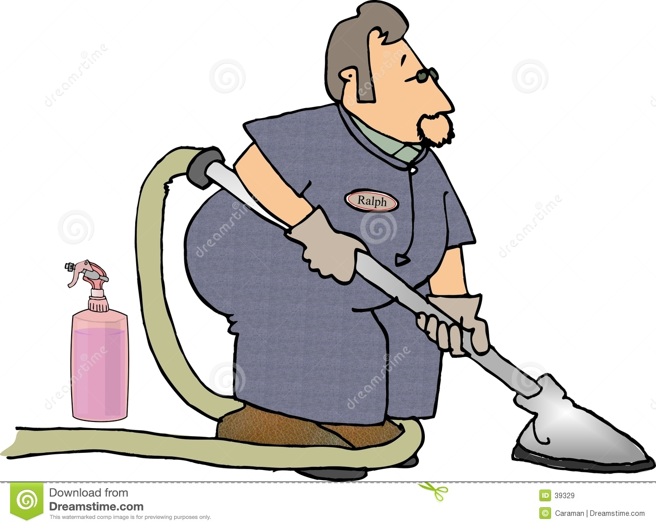 Carpet Cleaner Royalty Free Stock Images Image 39329