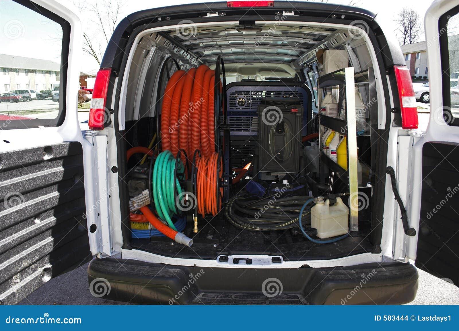 Van Carpet Cleaning Equipment Photos