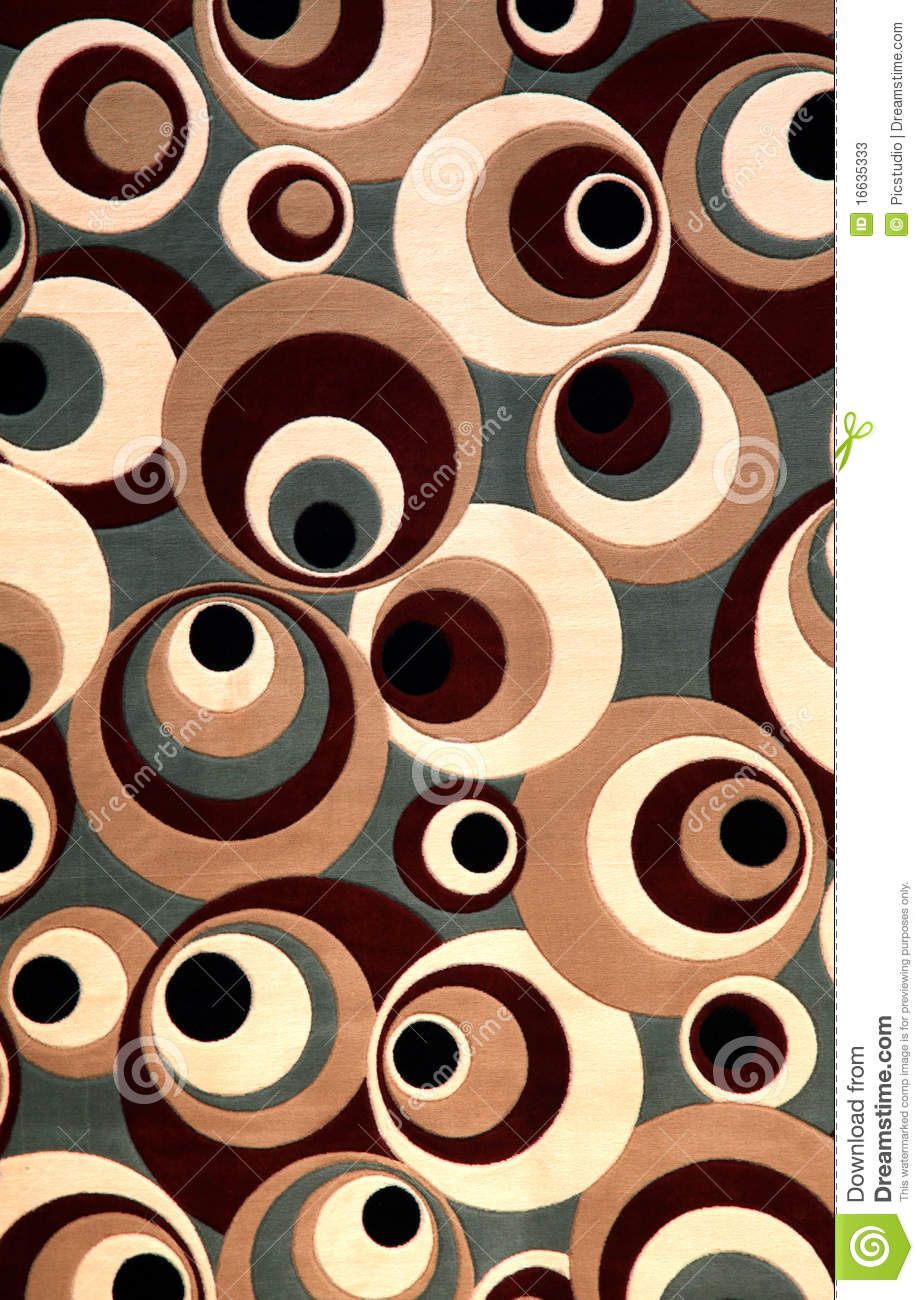 Carpet Design Stock Image Image Of Texture Round