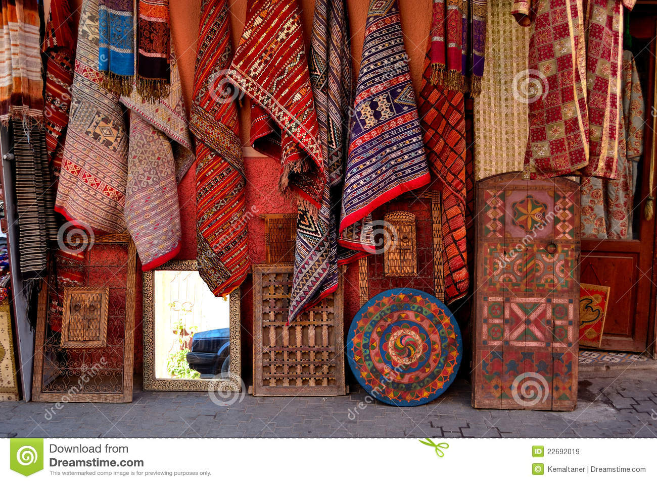 Carpet And Rug Store Royalty Free Stock Images Image