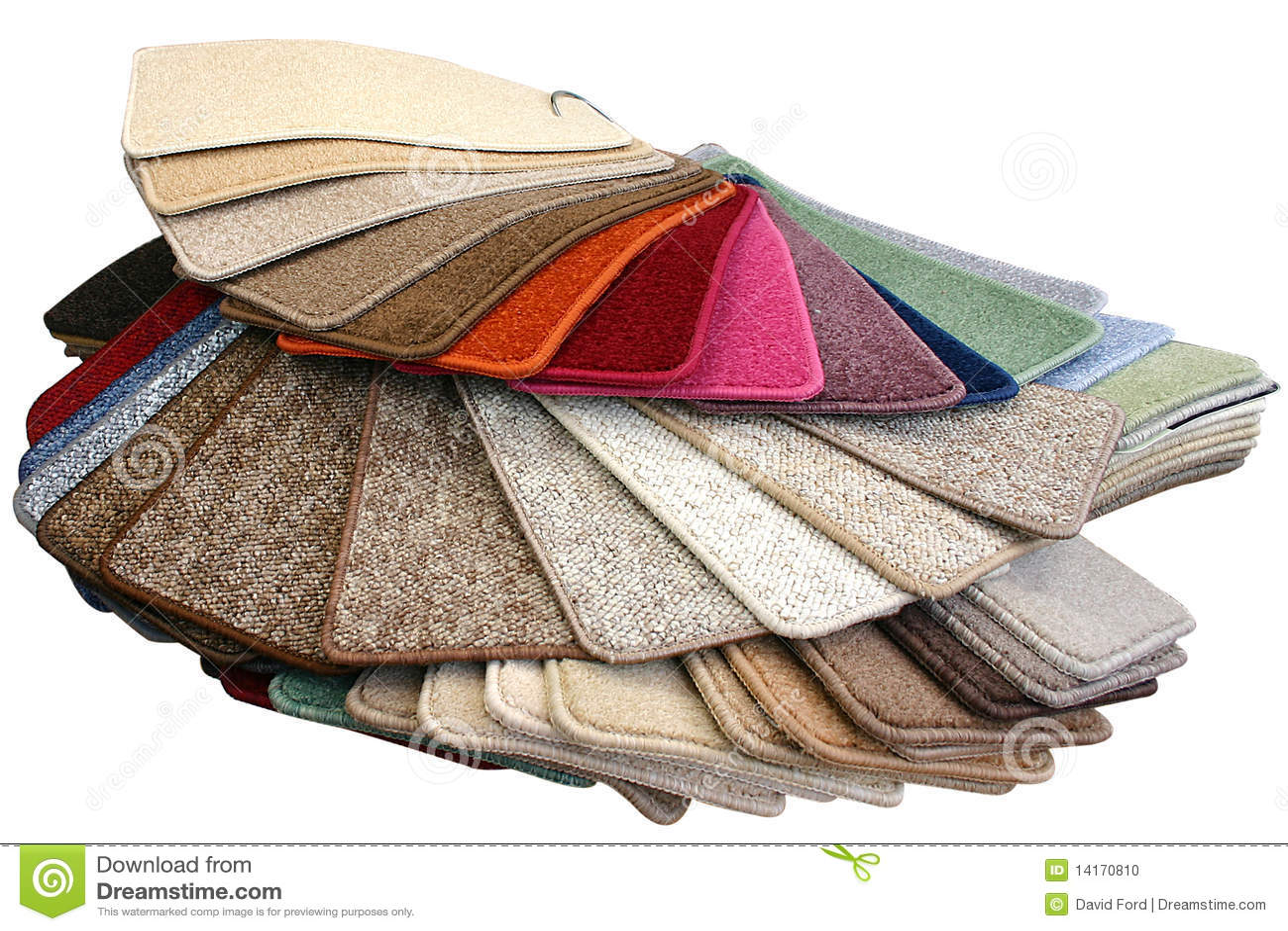 Carpet Samples Stock Photo - Image: 14170810