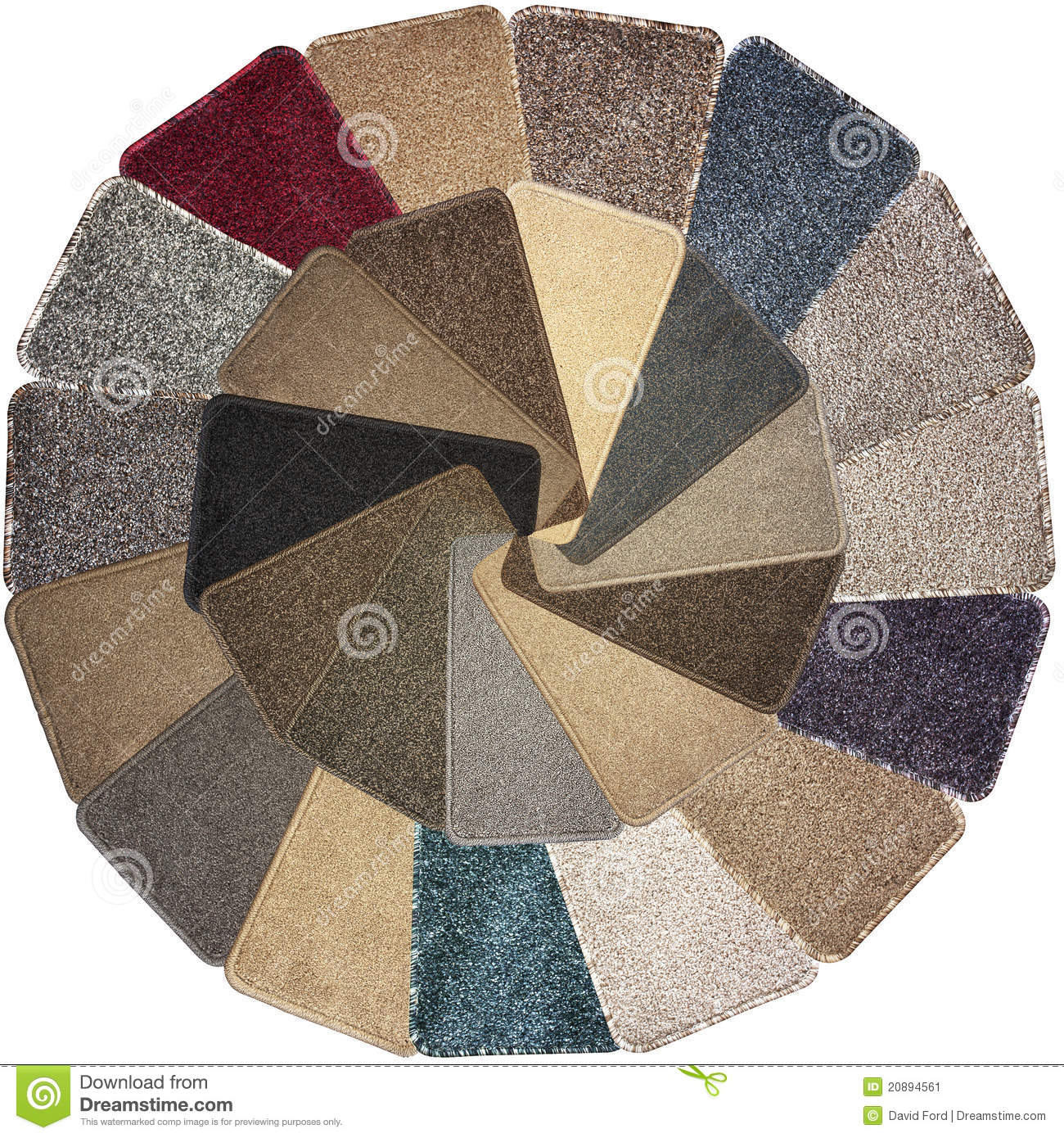 Carpet Samples stock image. Image of covering, rough