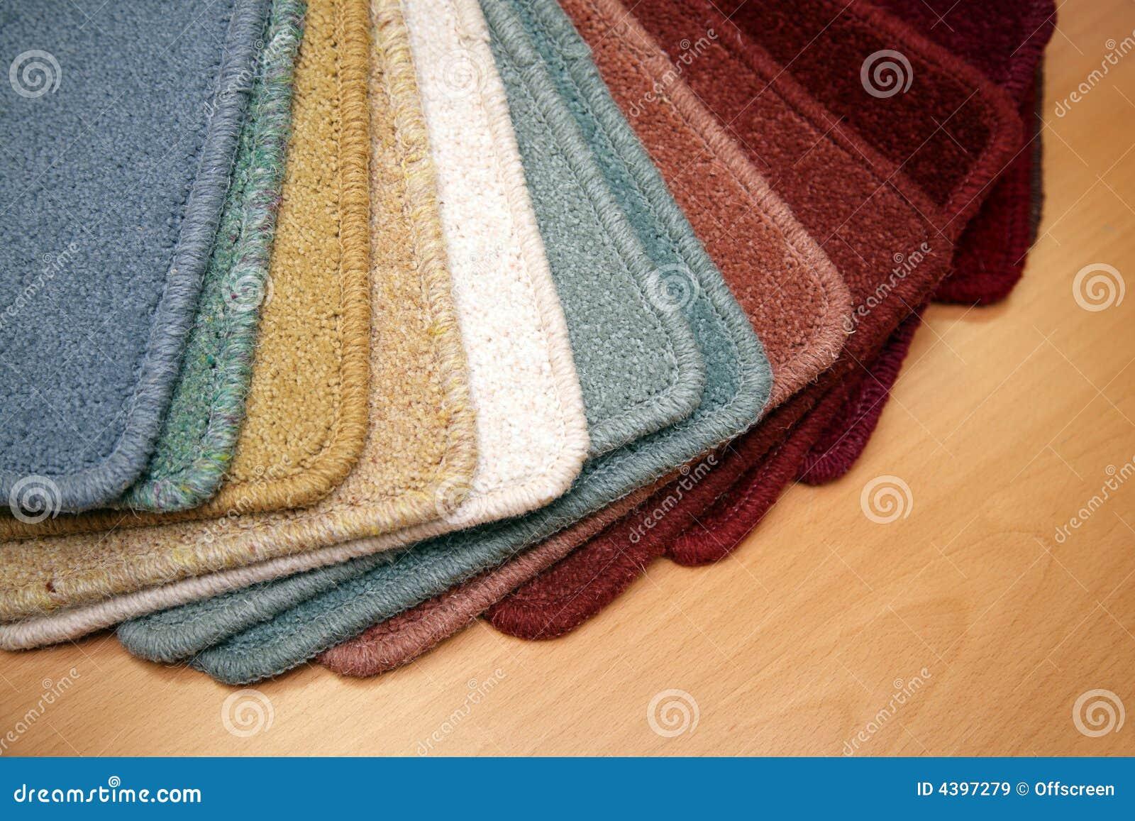 Carpet samples stock image. Image of sale, sample, floor