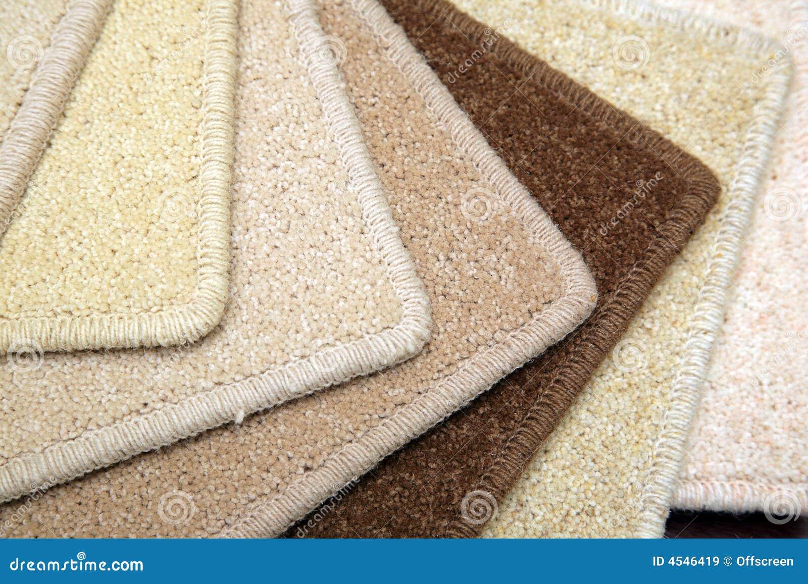 Carpet samples stock image. Image of carpet, covering