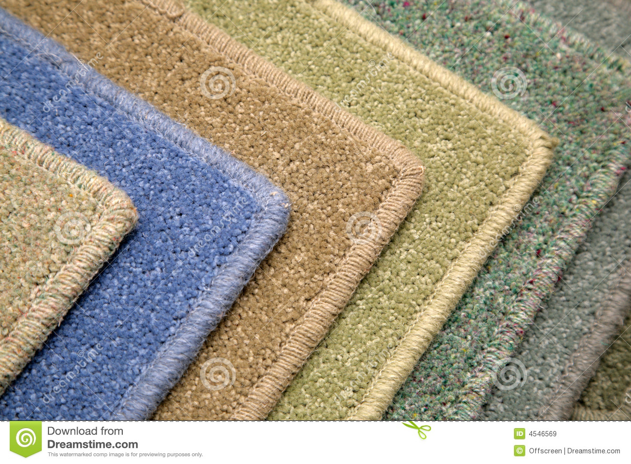 Carpet Samples Royalty Free Stock Images Image 4546569