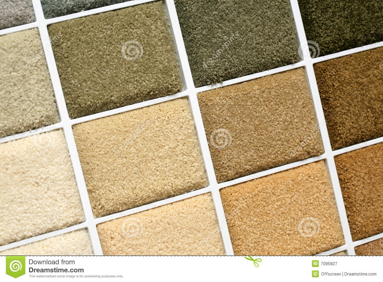 Carpet Samples Royalty Free Stock Photography - Image: 7095827