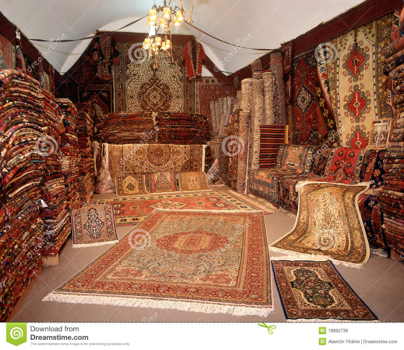 Carpet Shop Stock Photo Image Of Exoticism Photography