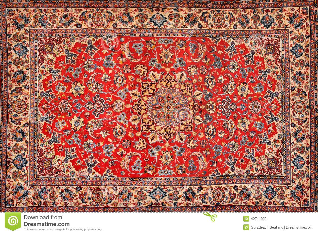 Carpet Texture Stock Photo Image Of Floral Flat Colored