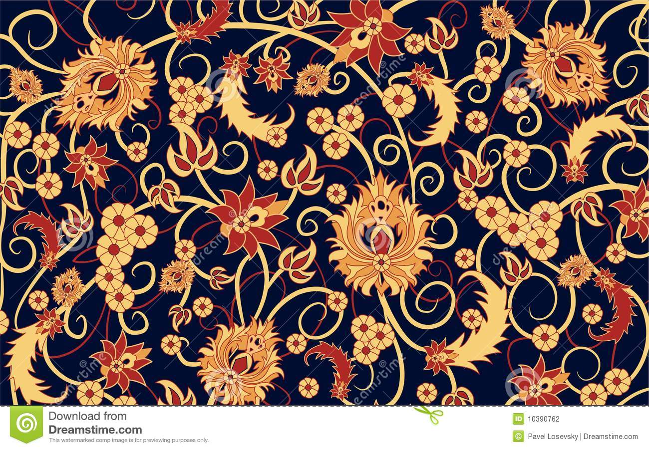 Carpet Vector Stock Vector Image Of Branch Bride Ornate