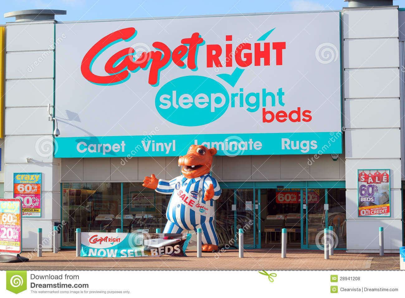 Carpetright Store Front Editorial Stock Photo Image Of