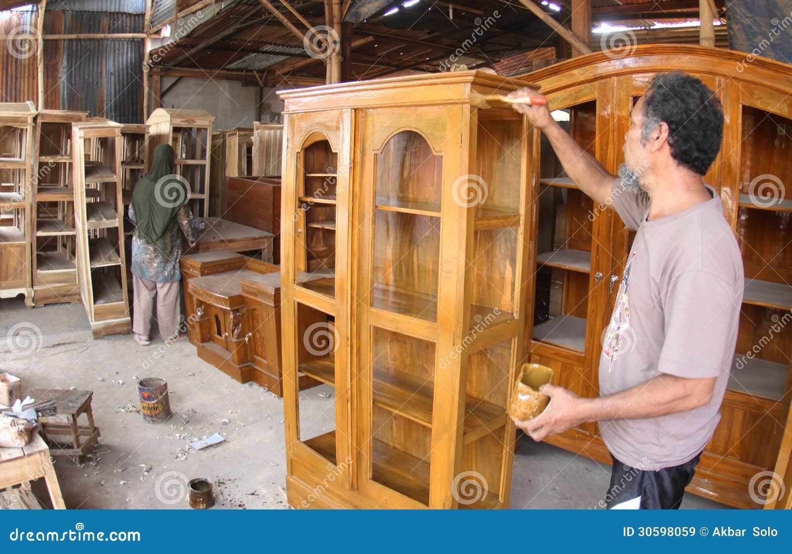 Carpintero Que Hace Los Muebles Imagen De Archivo Editorial  # Los Muebles Powerpoint