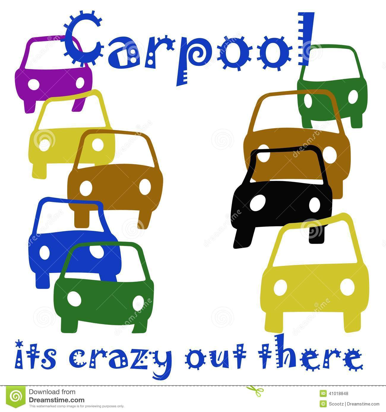 School Carpool Clipart Carpool crazy .
