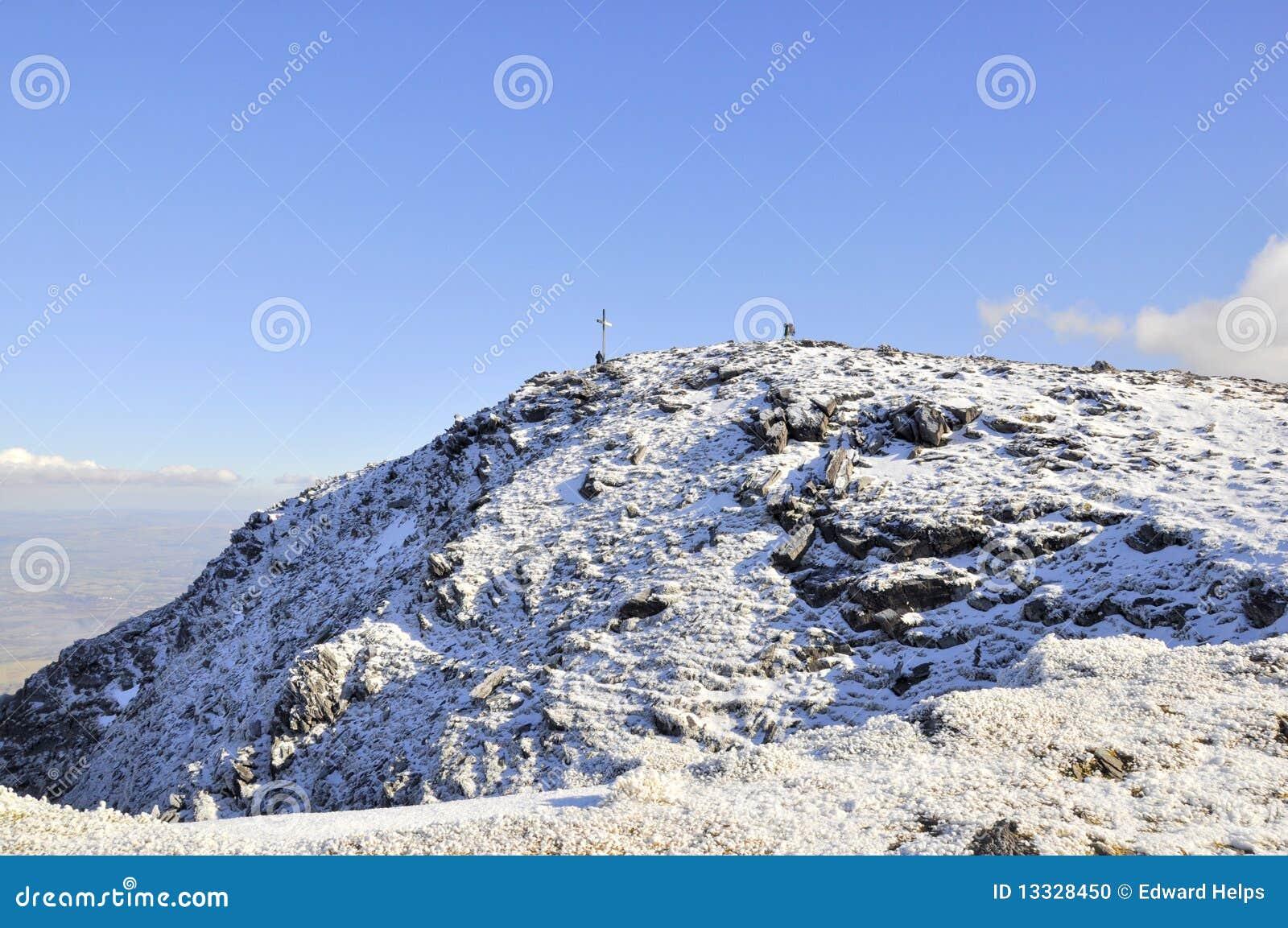 Carrauntoohil wysoki Ireland szczytowy s szczyt