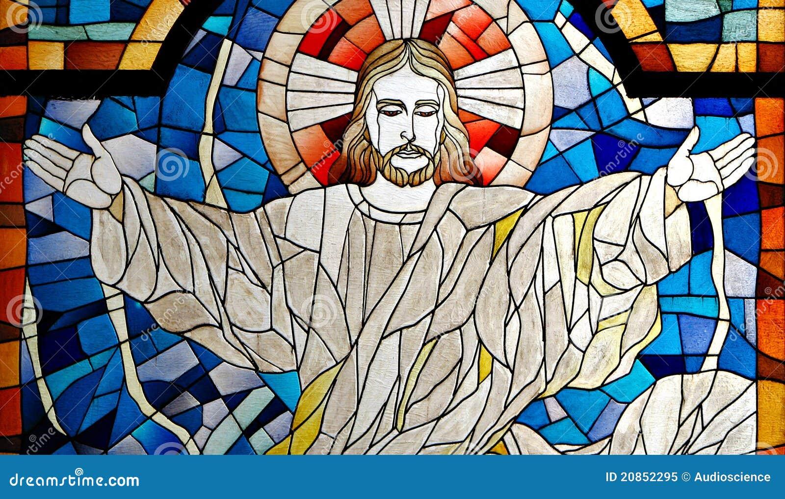 Carreau souillé d église de Jésus-Christ