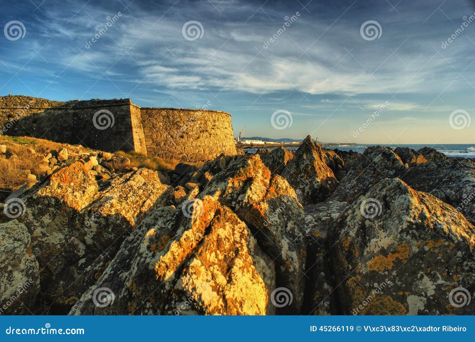 Carreco fortress in Viana do Castelo