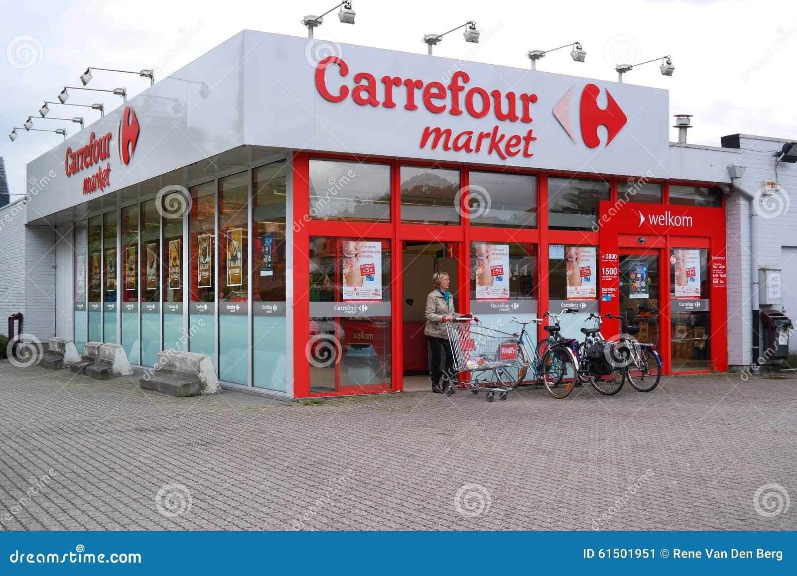 Carrefour rynek w Belgia