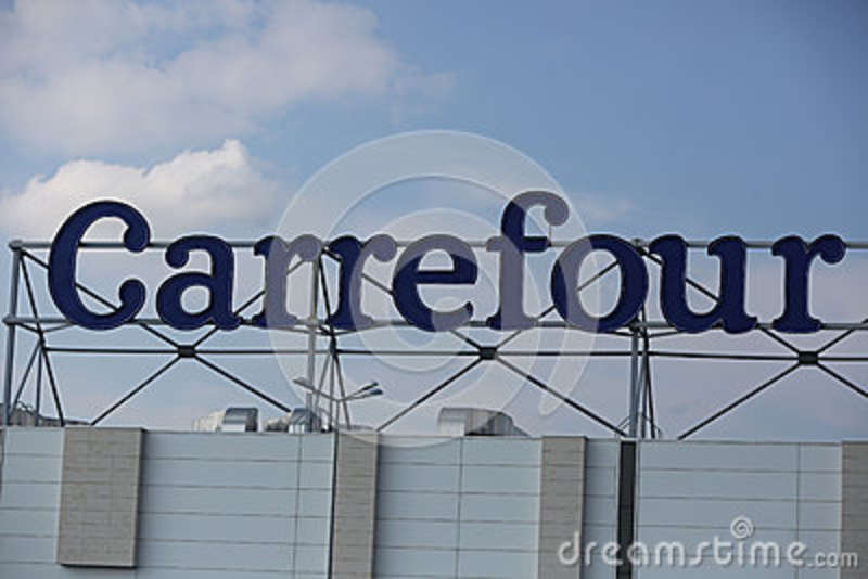 carrefour editorial stock photo image of french france 42550933