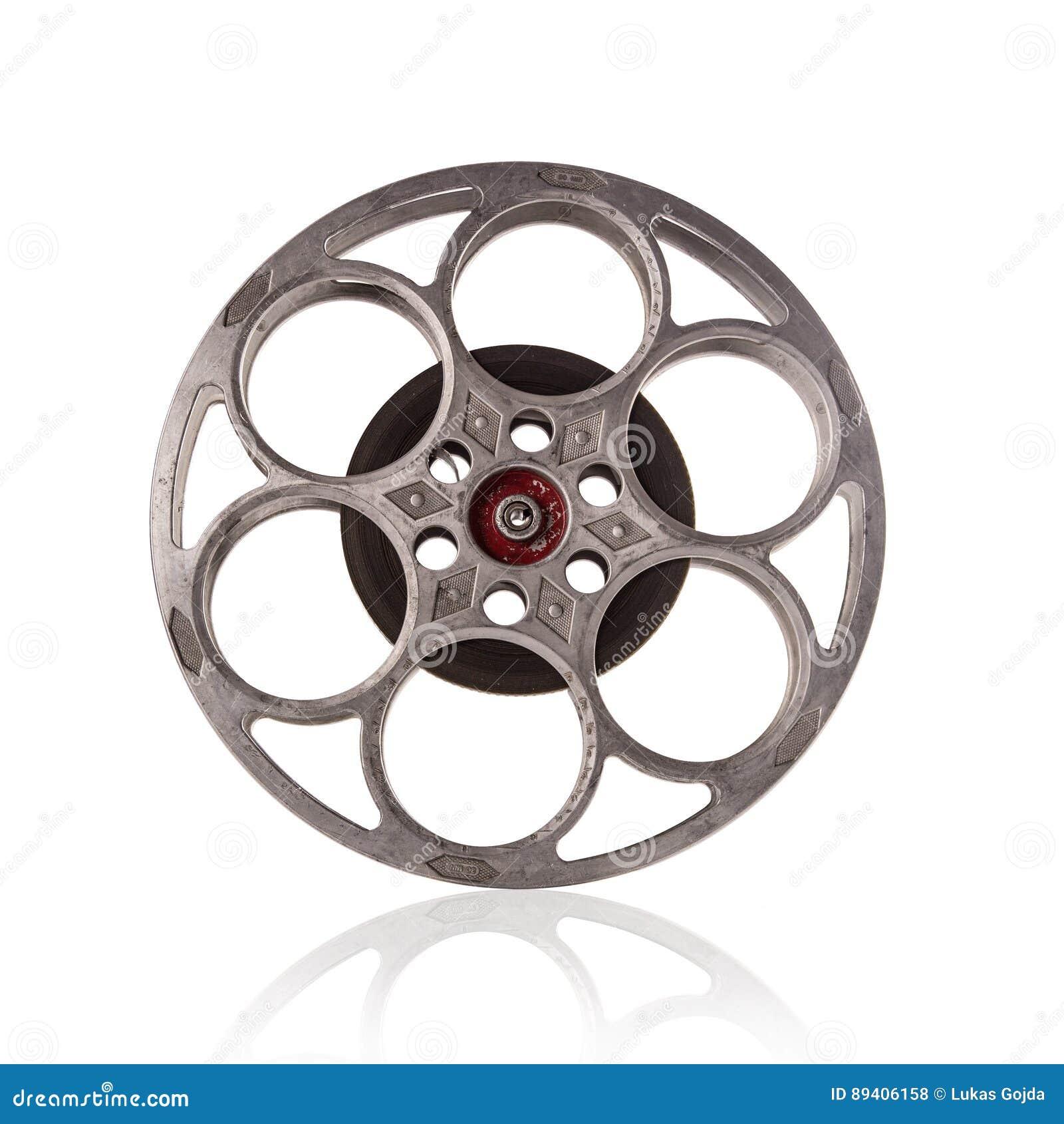 Carretel de filme antiquado do filme