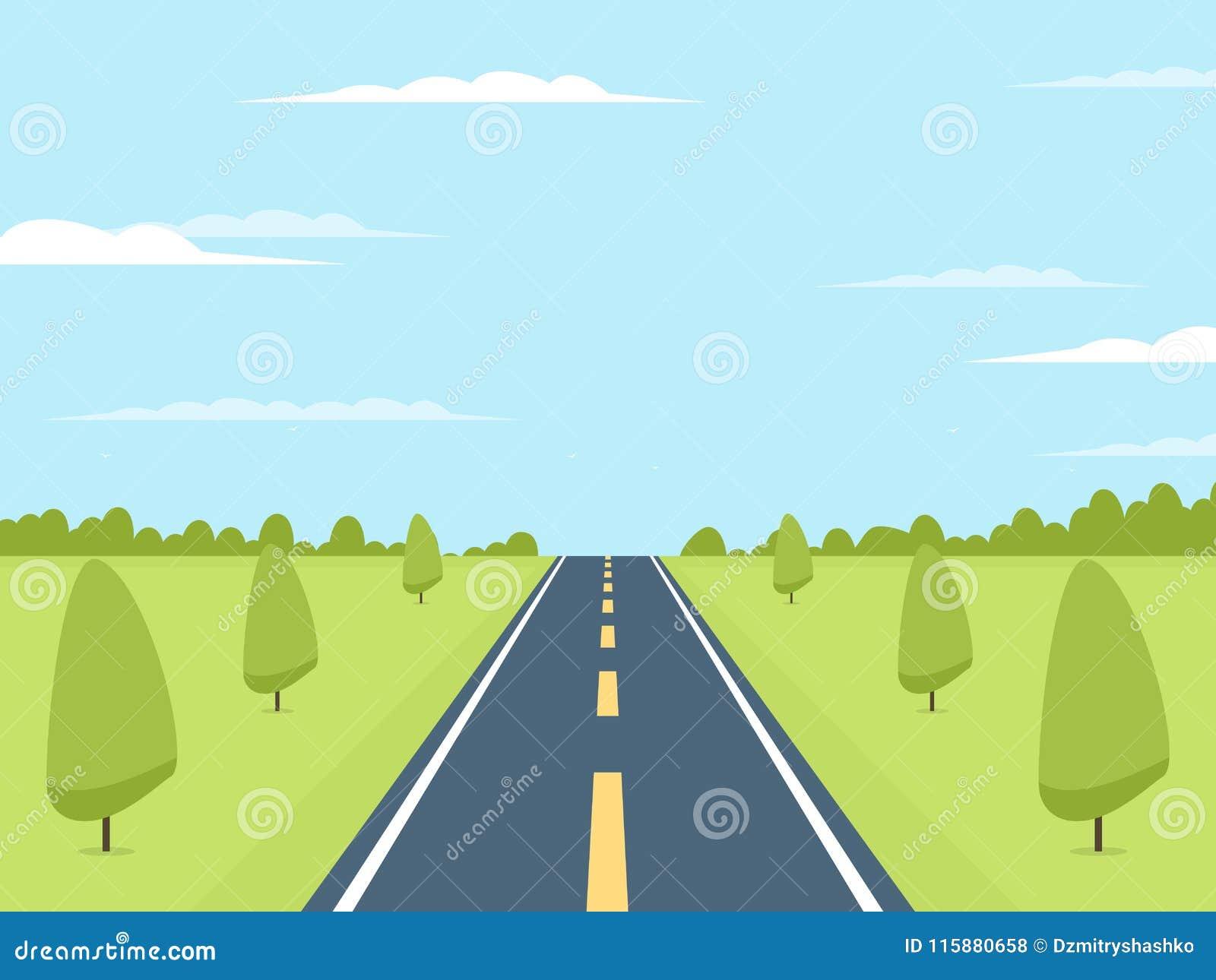 Carretera al horizonte