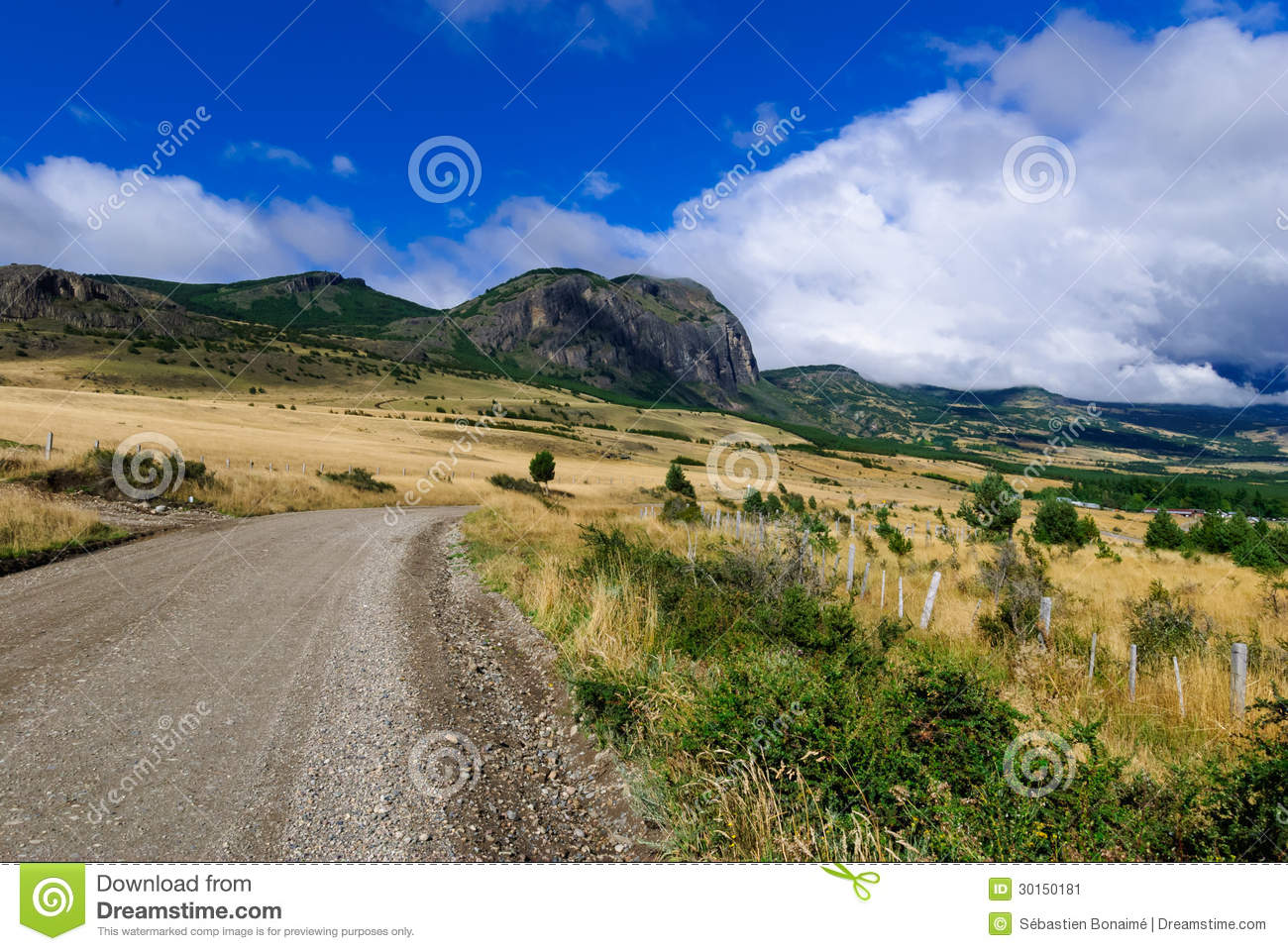 Download Carretera Austral stock image. Image of beauty, country - 30150181