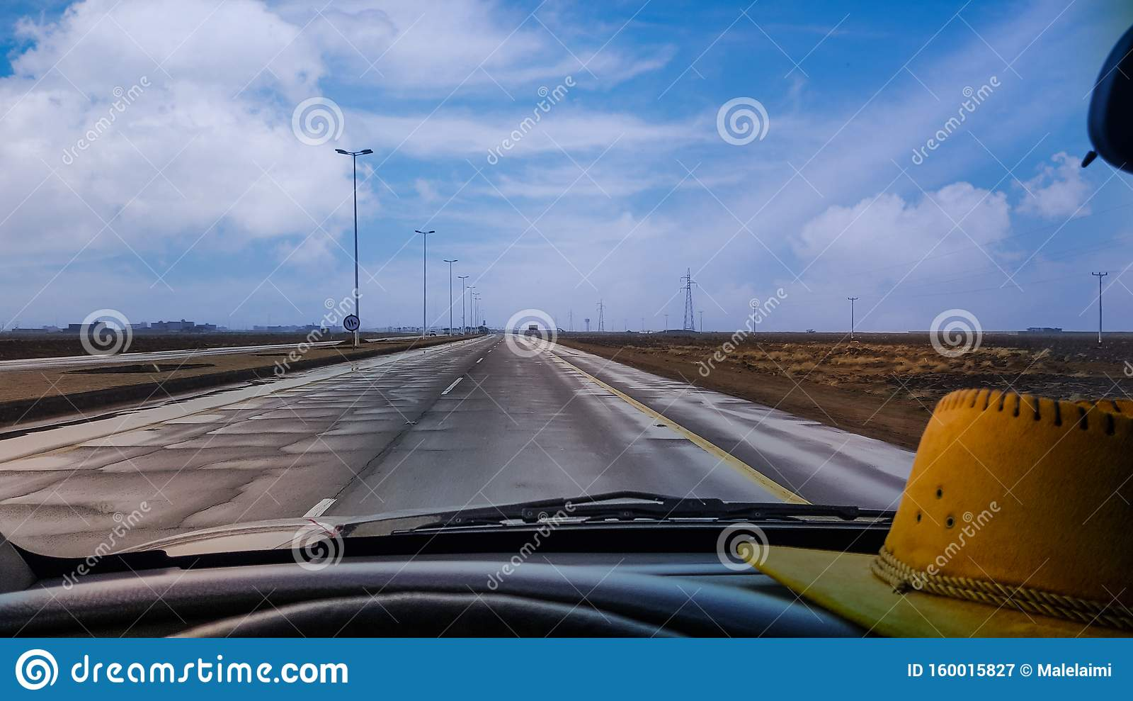 Carretera en Arabia Saudita