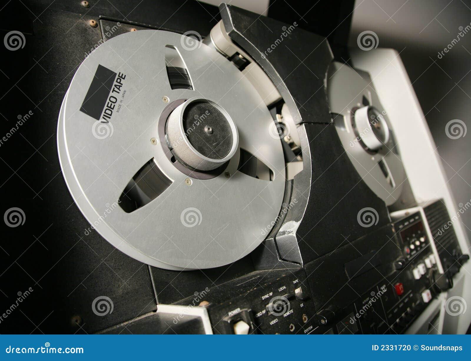 Carretes del registrador de cinta video