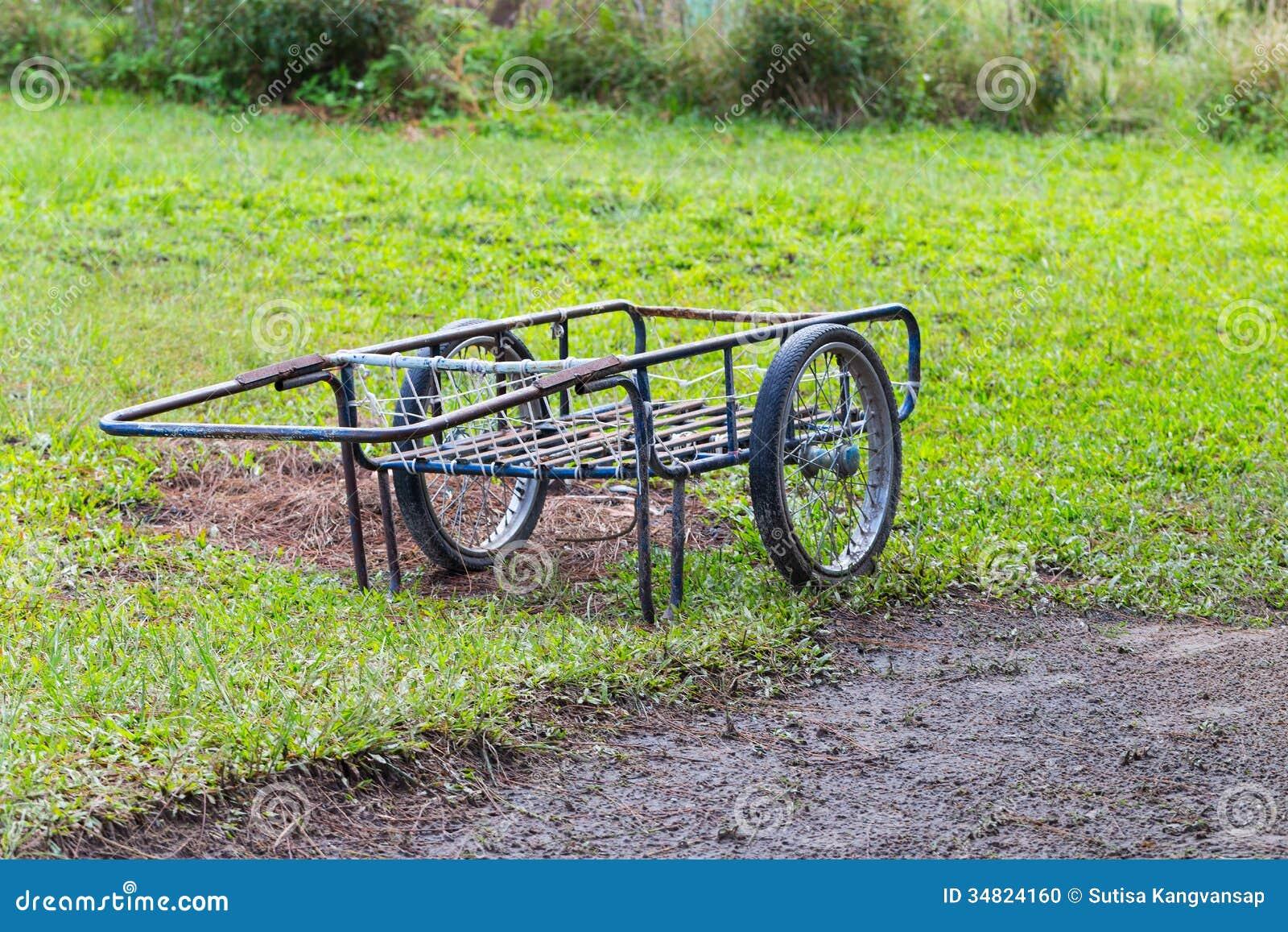Carretilla de mano de dos ruedas foto de archivo imagen for Carretilla dos ruedas mano