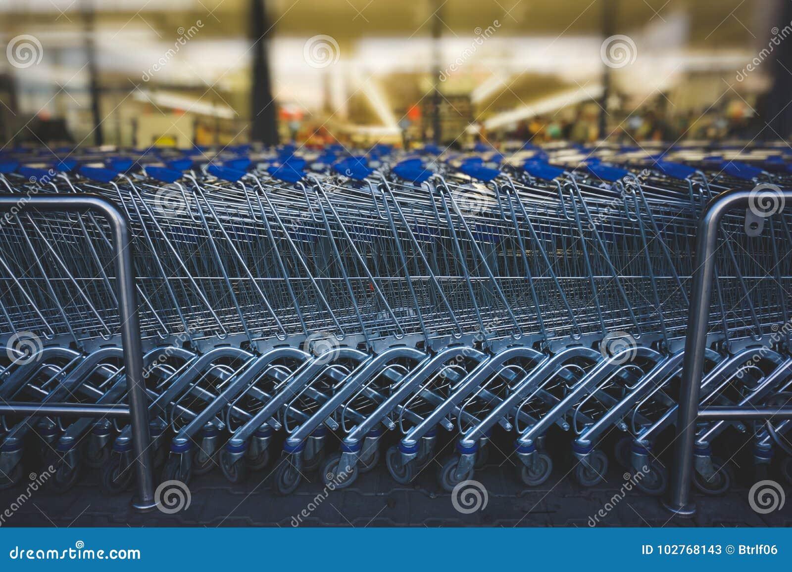 Carretillas de las compras
