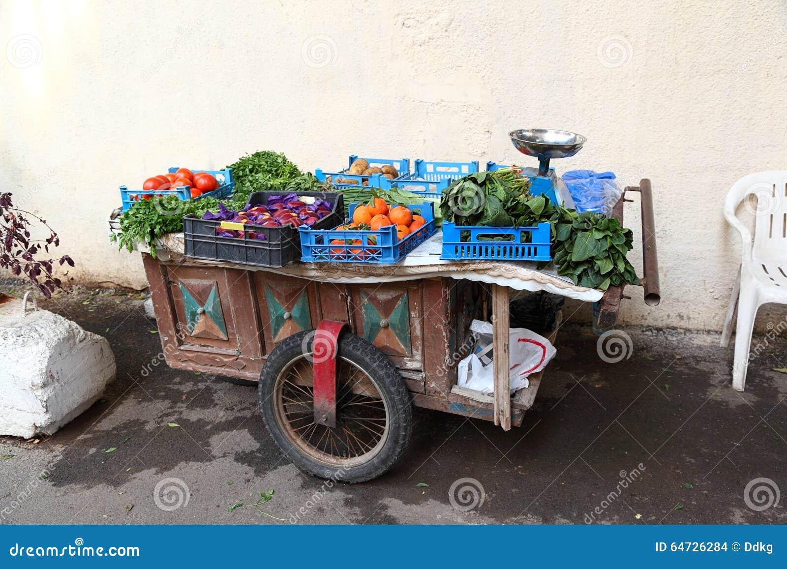 Carretto di verdure, Beirut - Libano