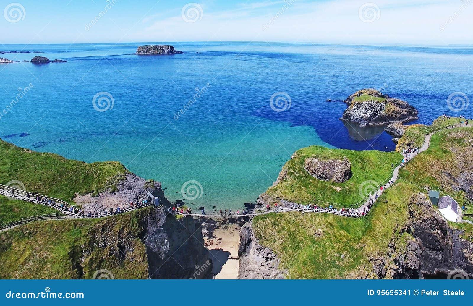 Carrick-a-Rede Rope Bridge County Antrim Northern Ireland
