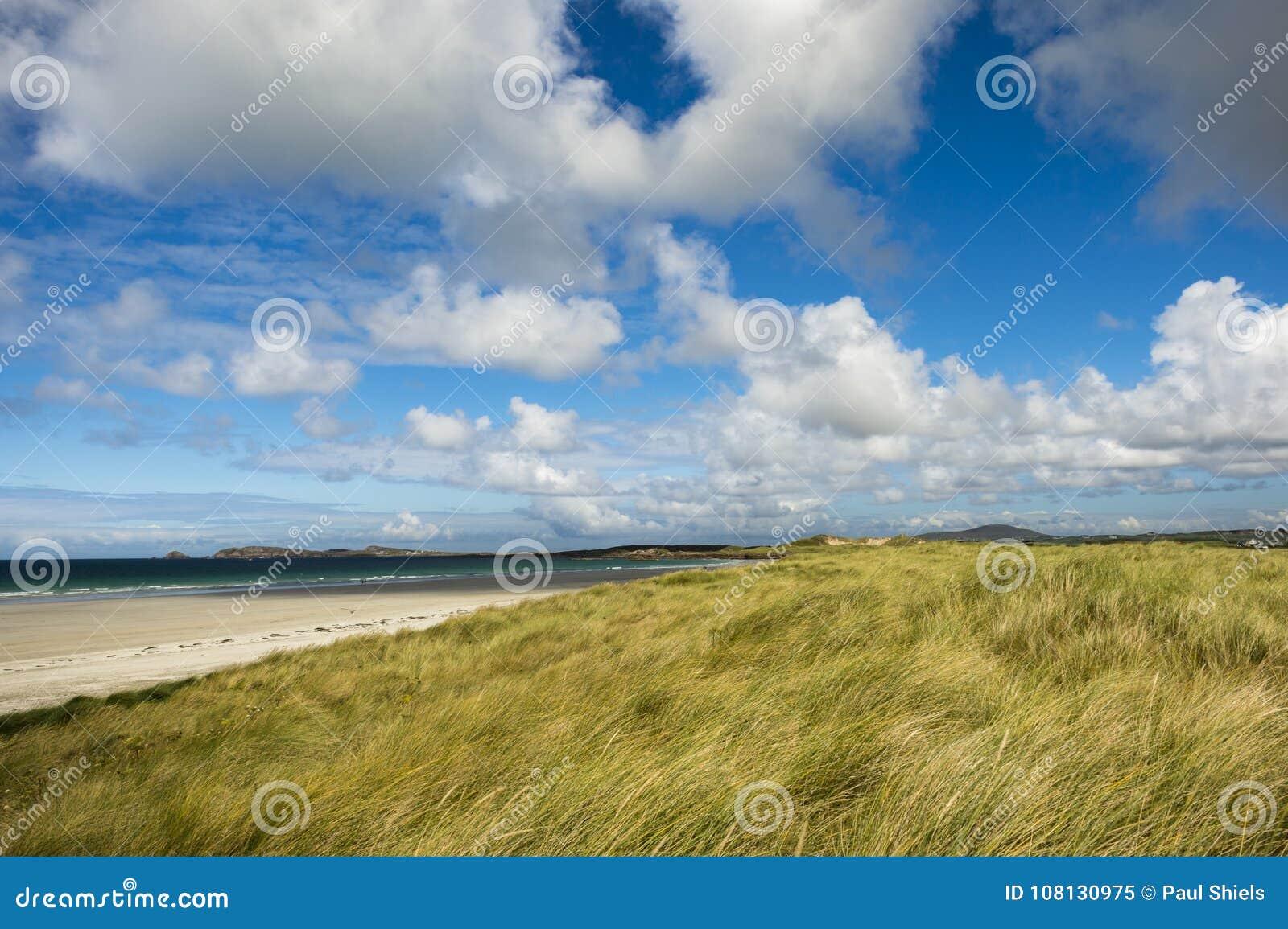 Carrickfinn strand Co Donegal Irland