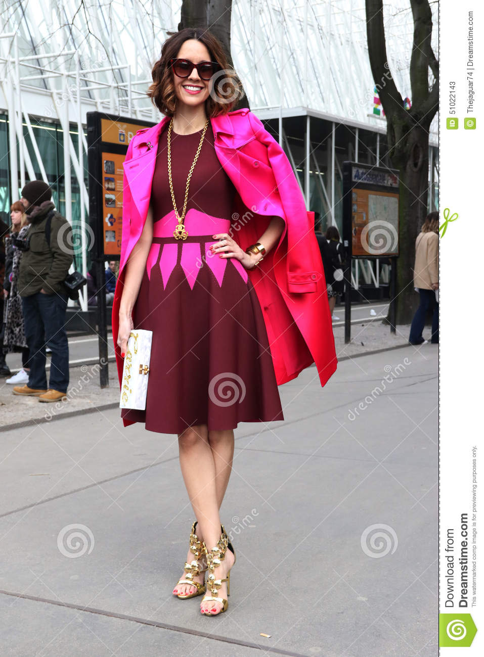 Carrie Colbert Milano Milan Fashion Week Streetstyle
