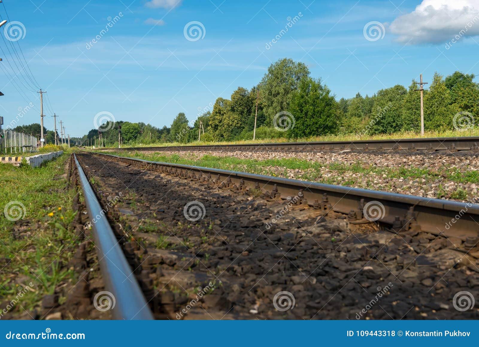 Carriles ferroviarios