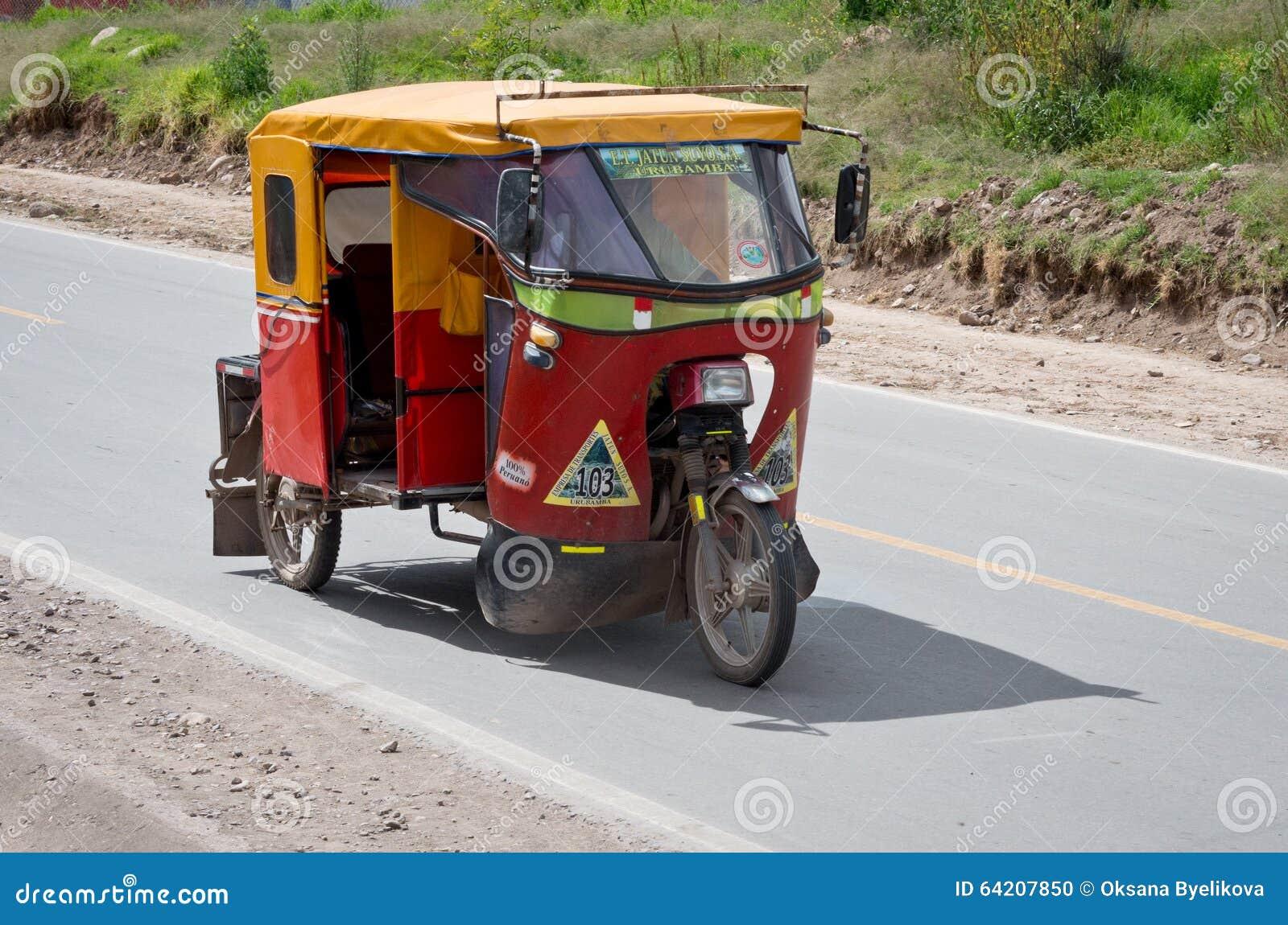 Carrito auto en Urubamba, Perú