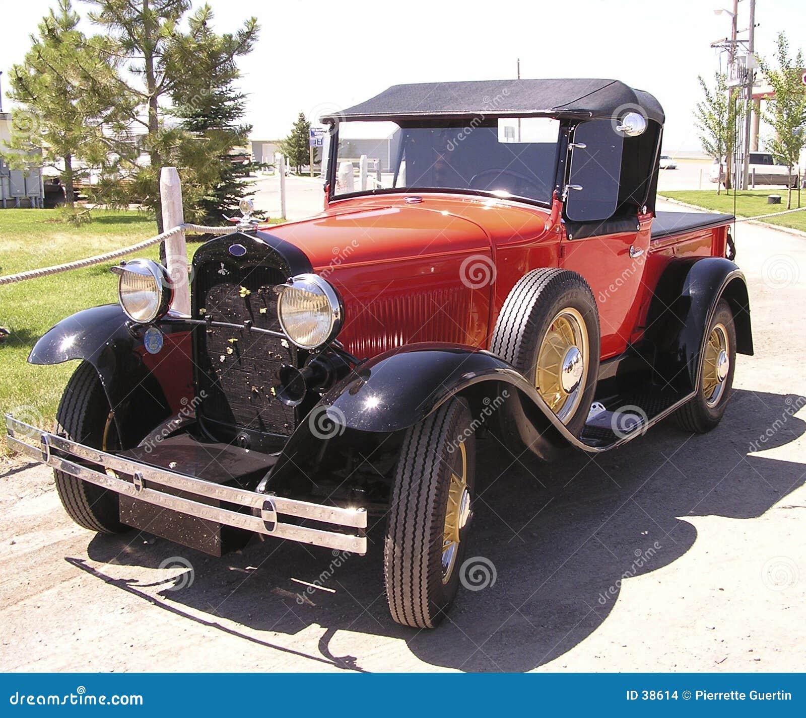 Carro americano do vintage