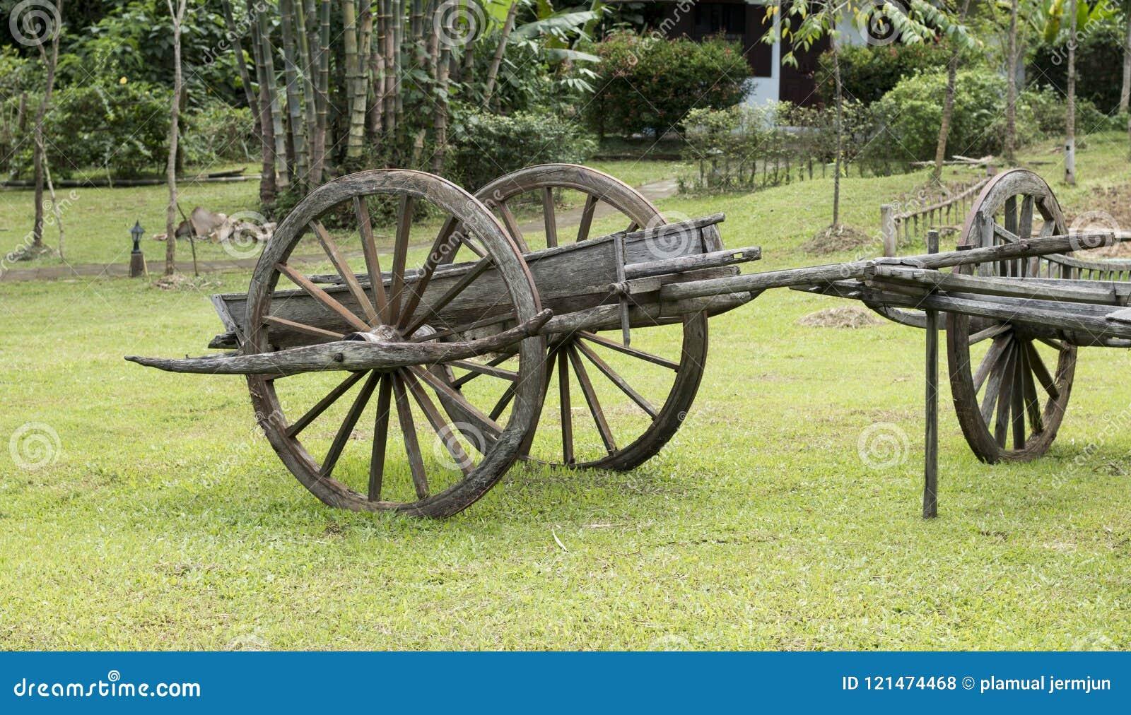 Carro antiguo conservador