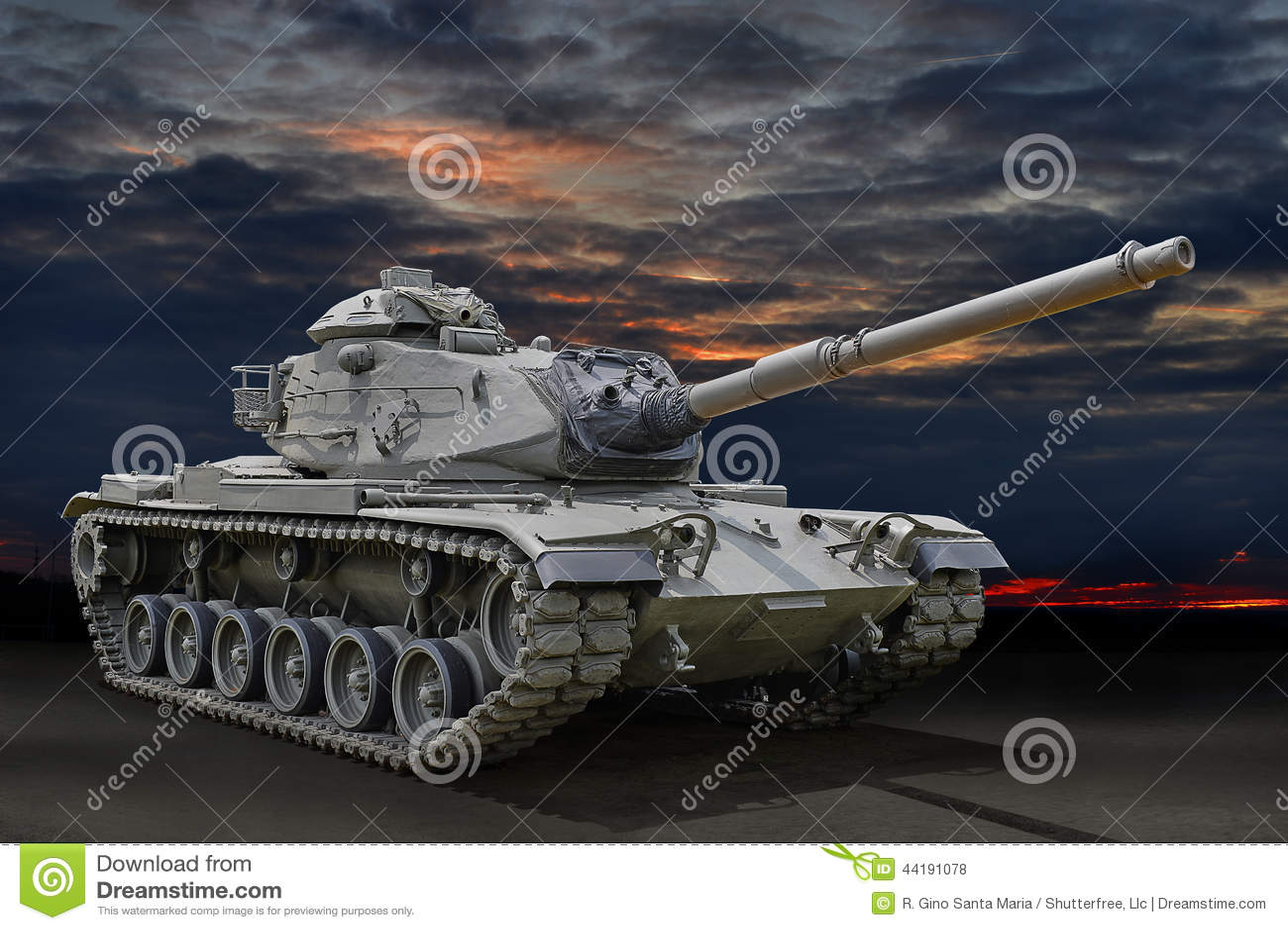 Carro armato militare