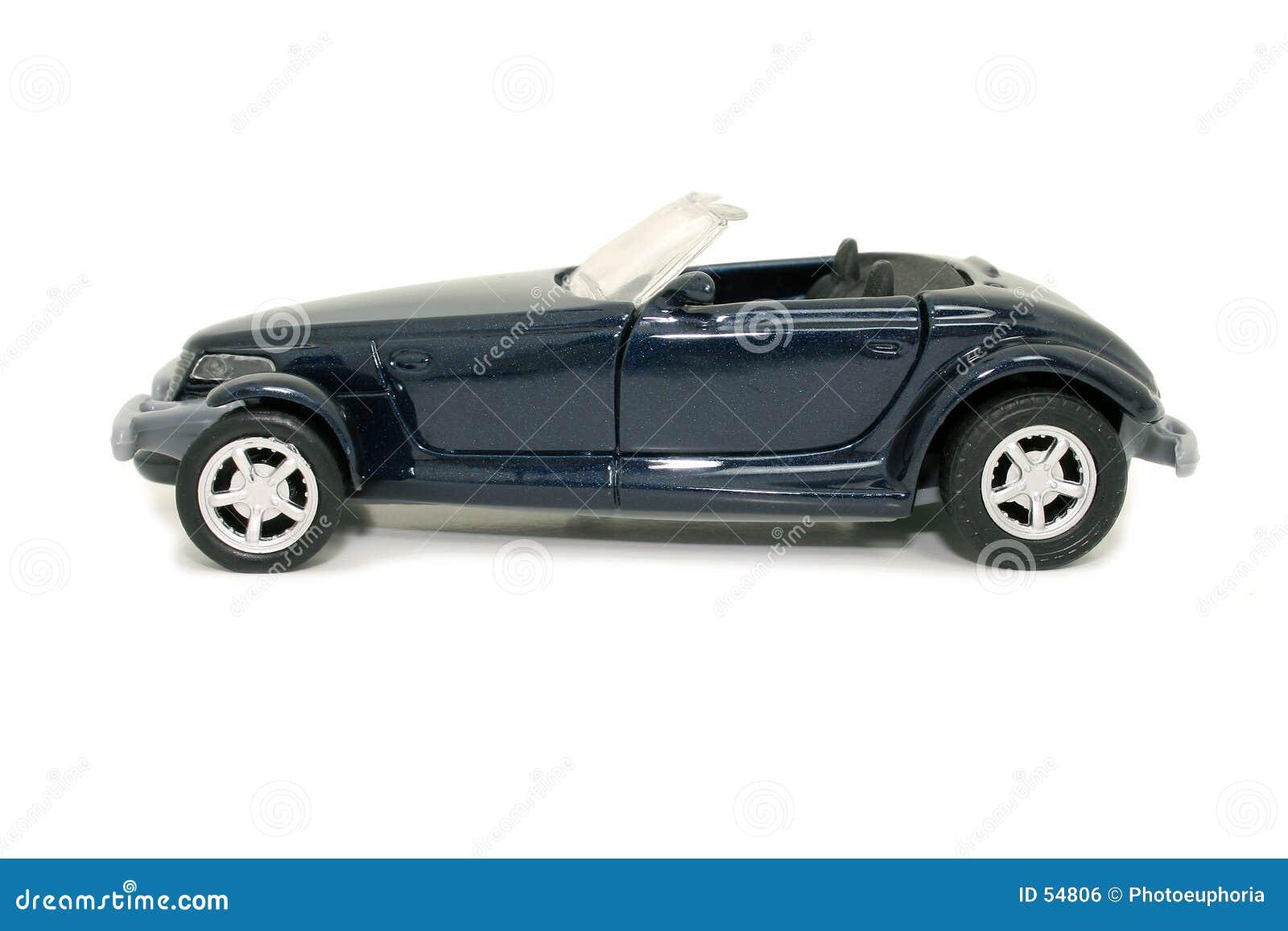 Carro azul do brinquedo (imagem 8.2mp)