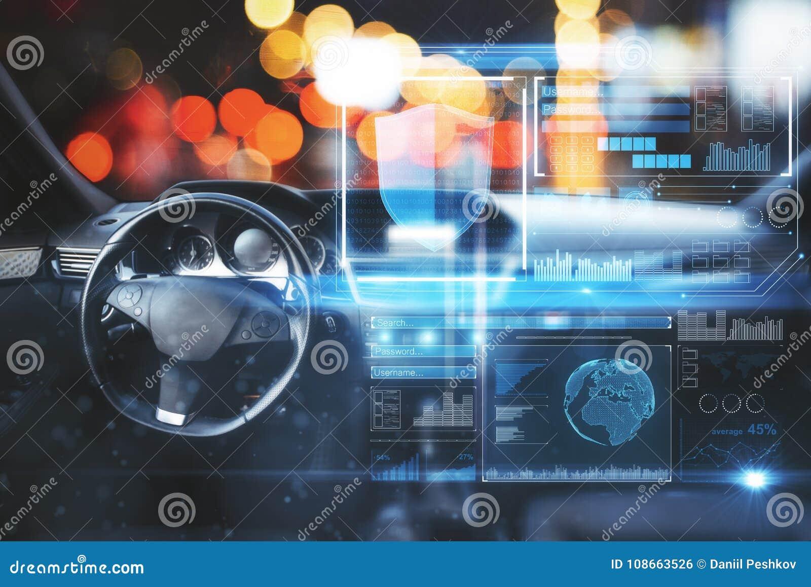 Carro com relação digital