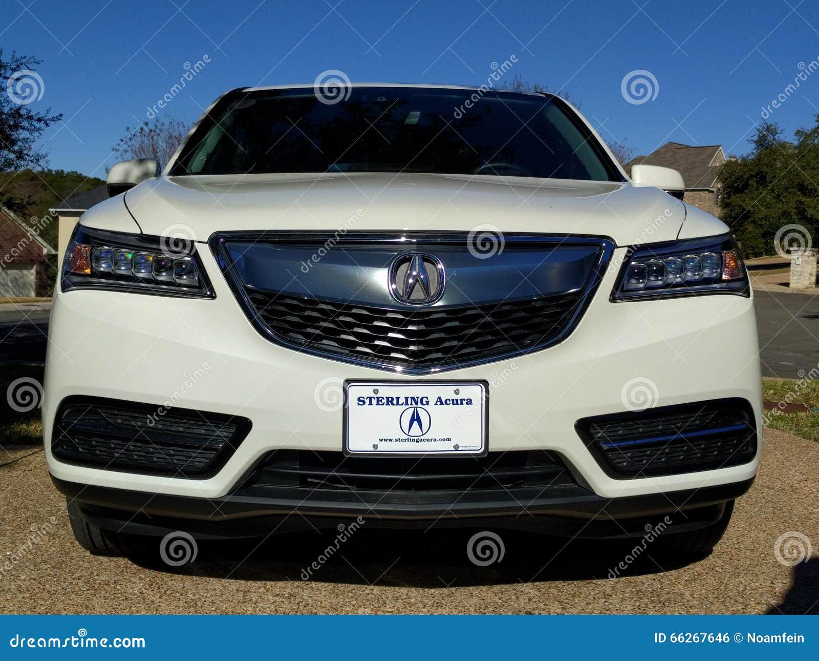 Carro de Acura MDX SUV