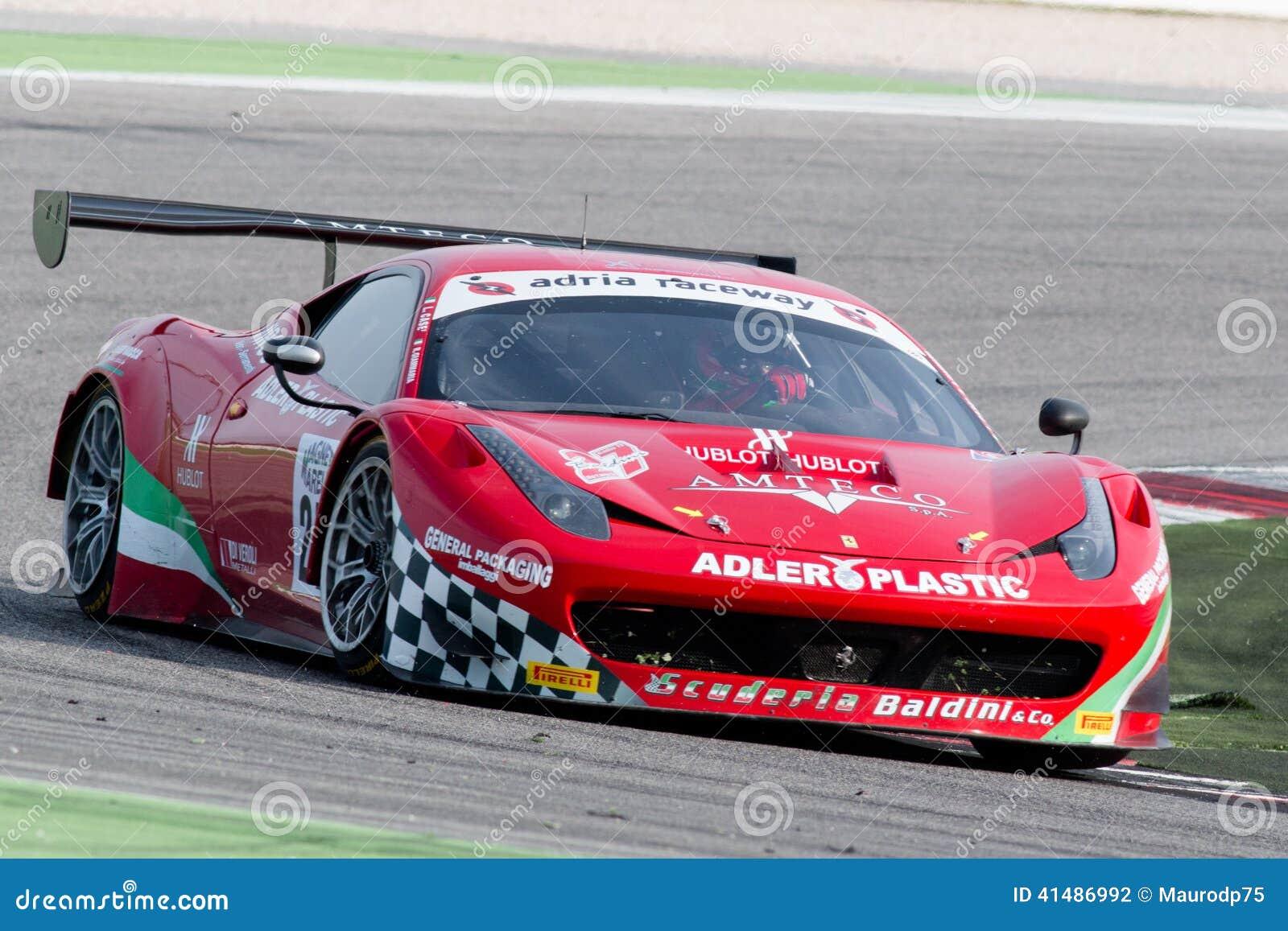 Carro De Corridas De Ferrari 458 Italia Gt3 Fotografia Editorial Imagem De Ferrari Corridas 41486992