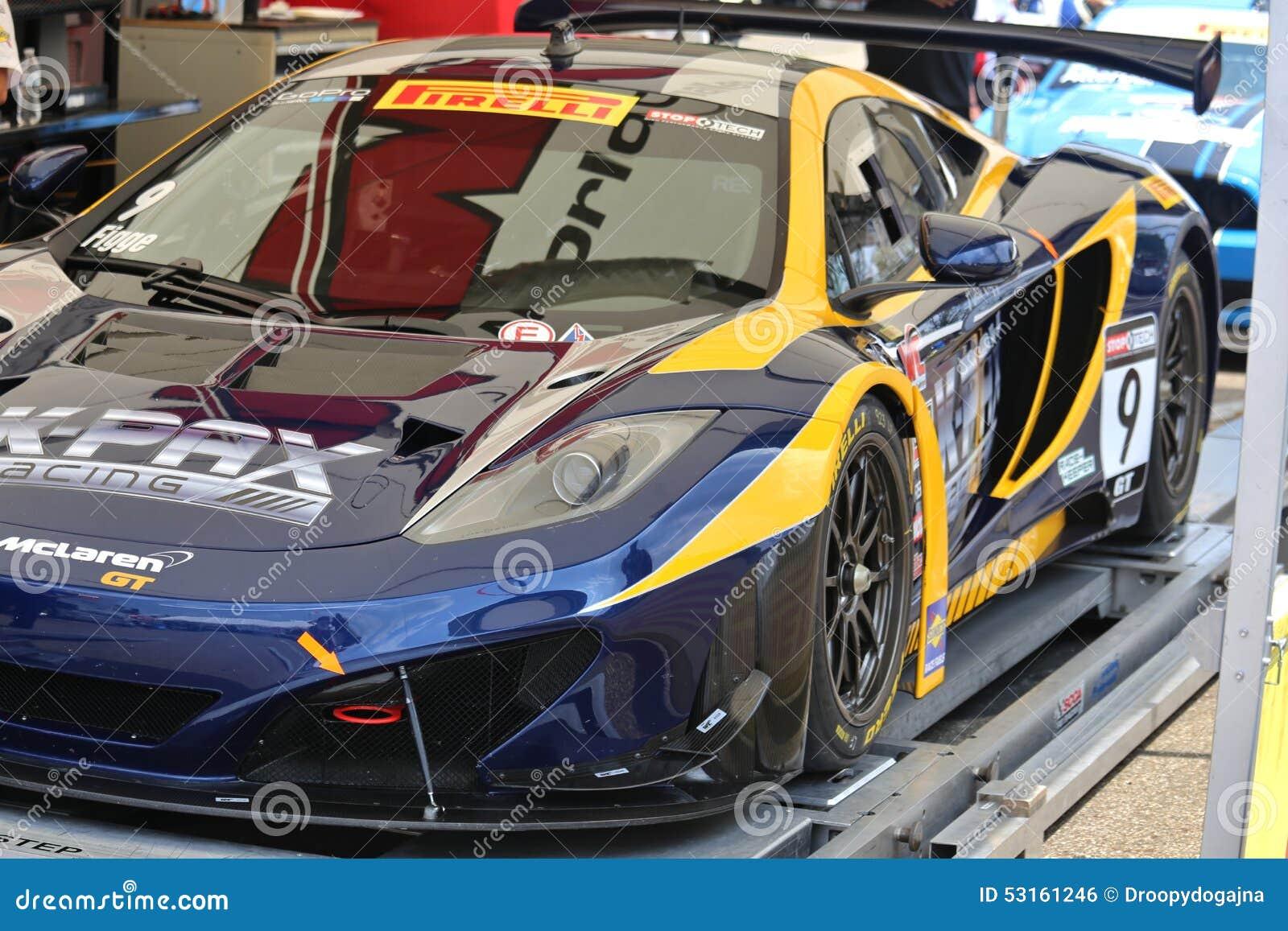 Carro de corridas de McLaren