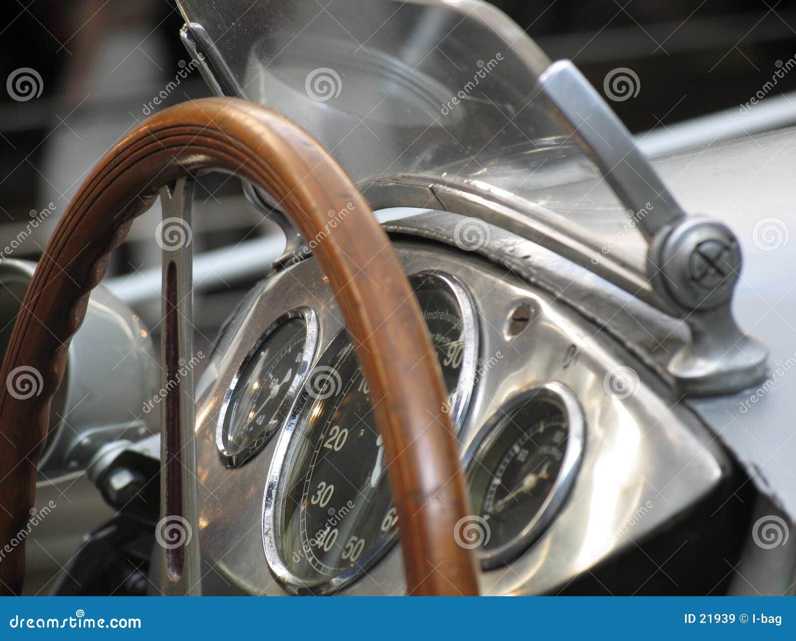 Carro de corridas do vintage
