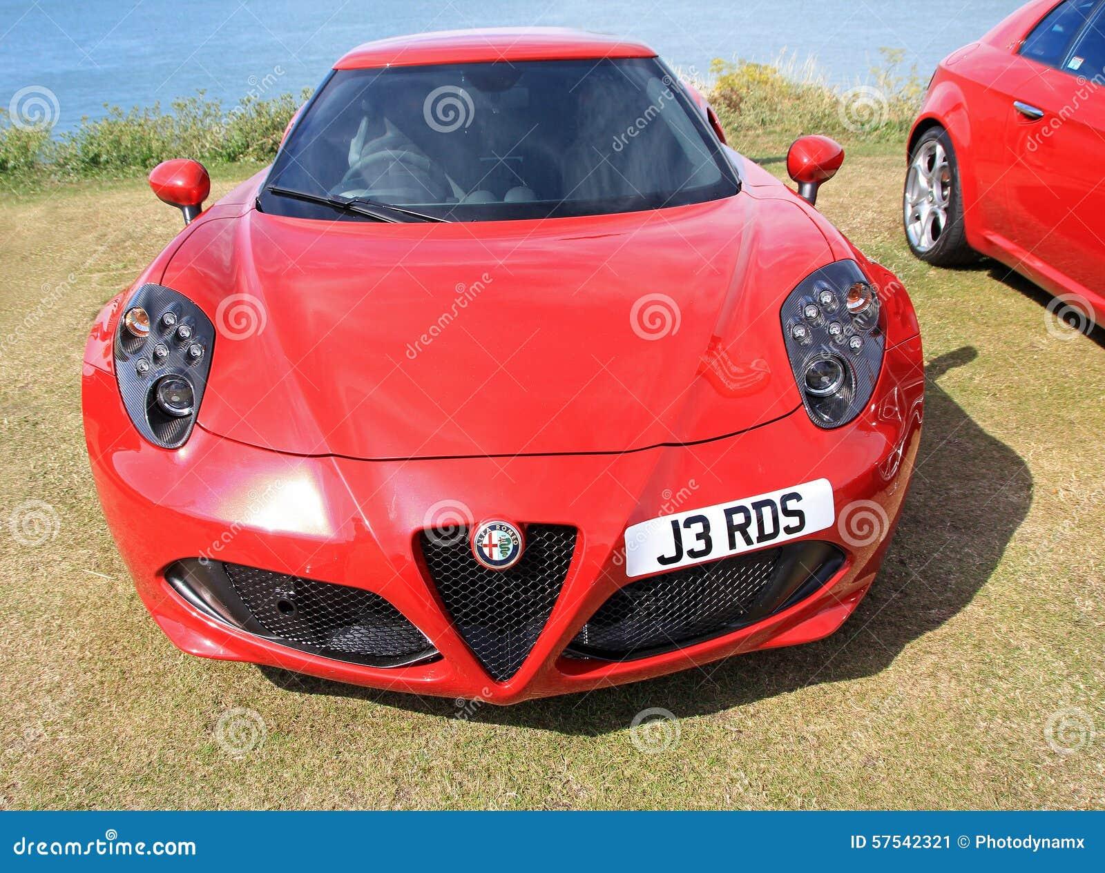 Carro de esportes de Alfa Romeo