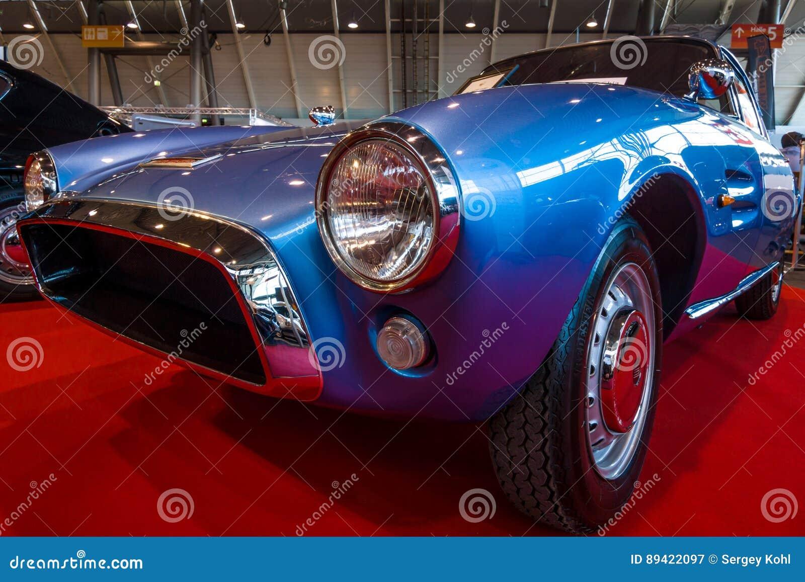 Carro de esportes Fiat GT 1500 Ghia, 1964