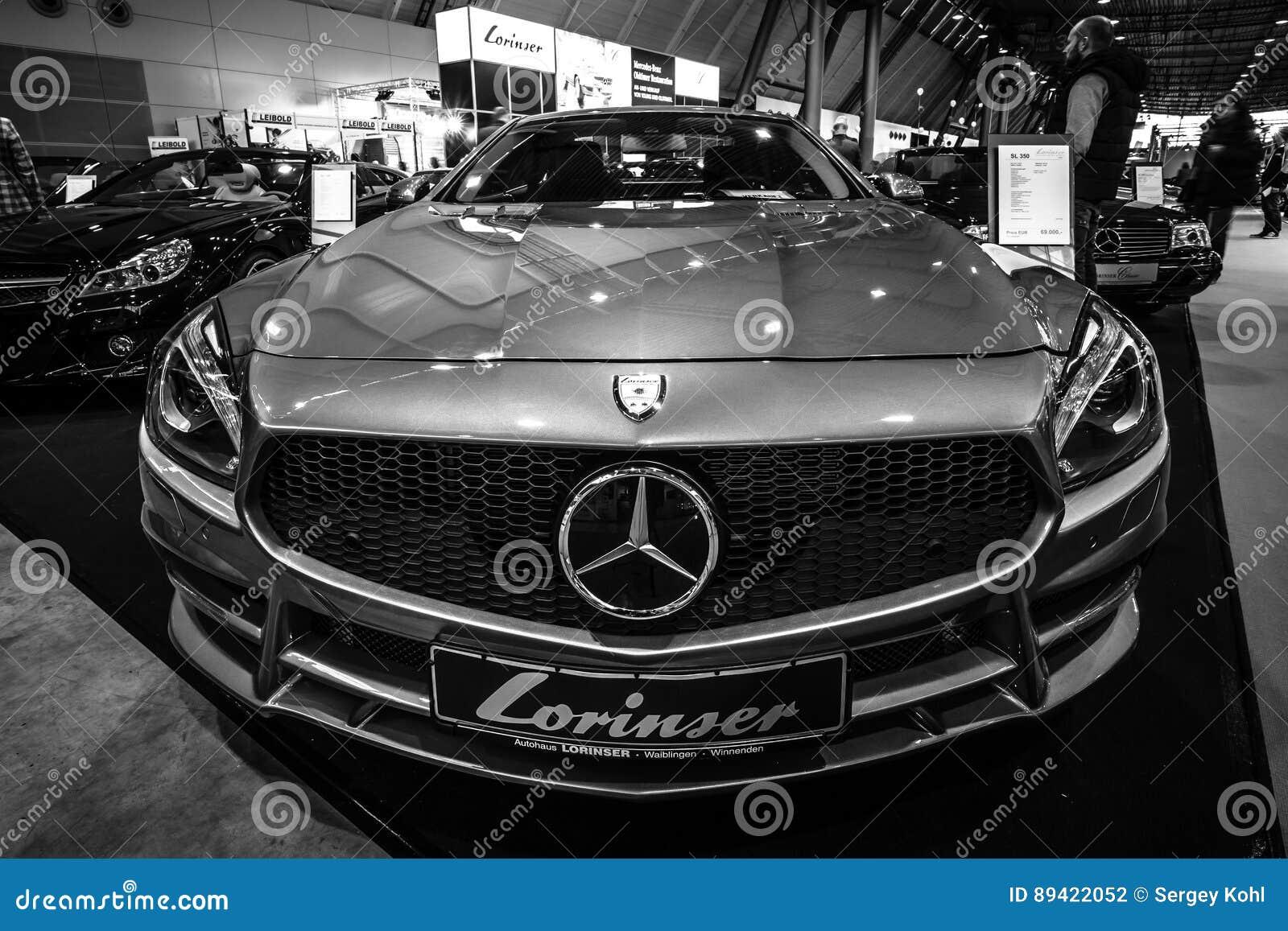 Carro de esportes Mercedes-Benz SL350 R351, 2012